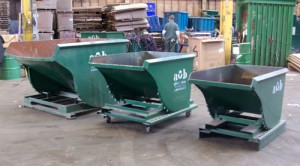 Scrap Metal Containers and Equipment Albert Bros. - Rolling Hoppers